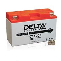 Мото АКБ Delta СТ 12 9 AGM (прямая) (JIS YTX9-BS
