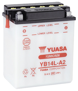 Yuasa YB14L A2 akkumulyatornaya batareya small