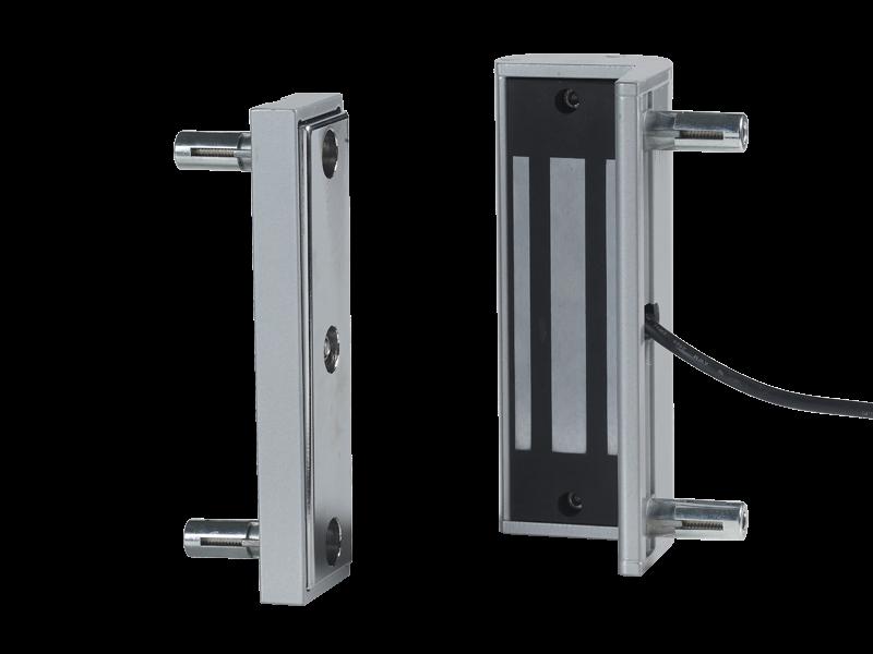 Как смонтировать современный магнитный дверной замок