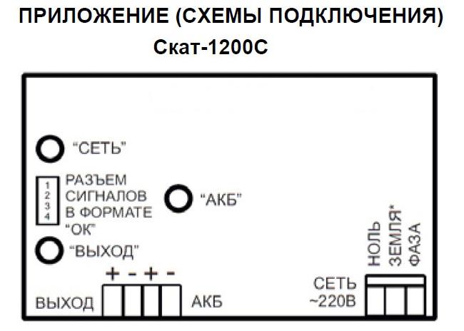 для ИБП СКАТ-1200С скачать