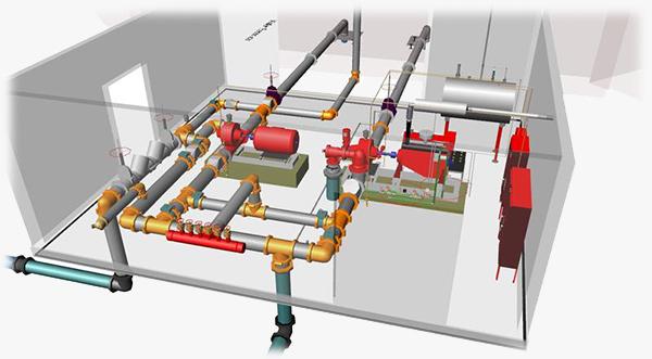 Расчет установки автоматического пожаротушения при перекачке бензина