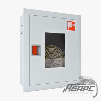 Шкаф пожарный ШПК-310 ВОБ встраиваемый открытый белый