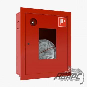 Шкаф пожарный ШПК-310 ВОК встраиваемый открытый красный
