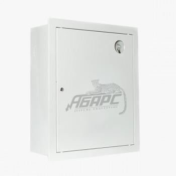 Шкаф пожарный ШПК-310 ВЗБ встраиваемый закрытый белый