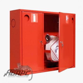 Шкаф пожарный ШПК-315 НЗК навесной закрытый красный