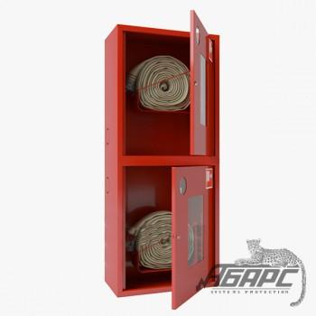 Шкаф пожарный ШПК-320-21 НОК навесной открытый красный