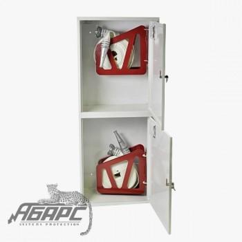 Шкаф пожарный ШПК-320-21 НЗБ навесной закрытый белый
