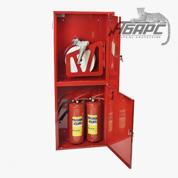 Шкаф пожарный ШПК-320 НЗК навесной закрытый красный