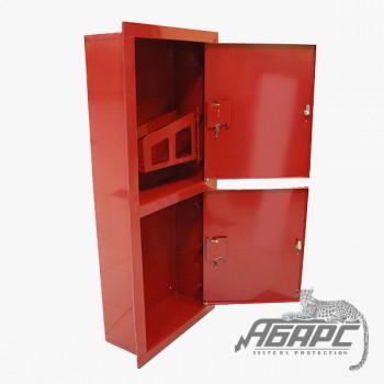 Шкаф пожарный ШПК-320 ВЗК встраиваемый закрытый красный
