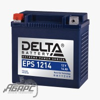 Delta EPS 1214 (12v 14ah) Аккумуляторная батарея