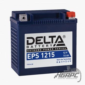 Delta EPS 1215 (12v 15ah) Аккумуляторная батарея