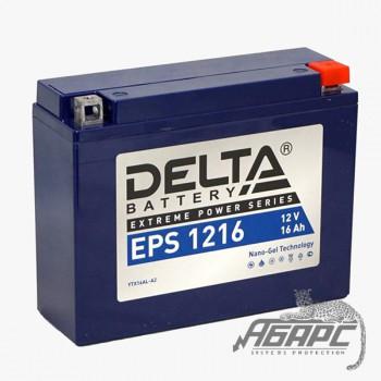 Delta EPS 1216 (12v 16ah) Аккумуляторная батарея