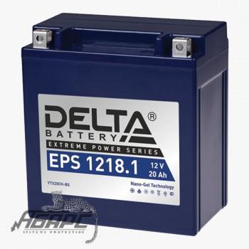 Delta EPS 1218.1 (12v 20ah) Аккумуляторная батарея
