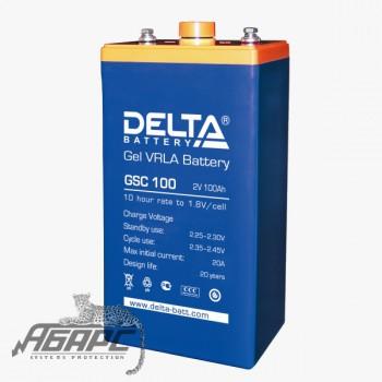 Delta GSC 100 (100 Ач, 2 В) Аккумуляторная батарея