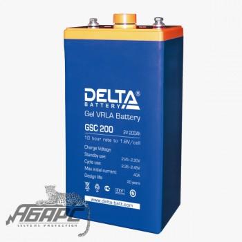 Delta GSC 200 (200 Ач, 2 В) Аккумуляторная батарея