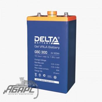 Delta GSC 300 (300 Ач, 2 В) Аккумуляторная батарея