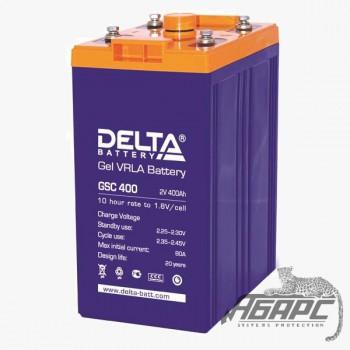 Delta GSC 400 (400 Ач, 2 В) Аккумуляторная батарея