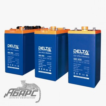 Delta GSC 2000 (2000 Ач, 2 В) Аккумуляторная батарея