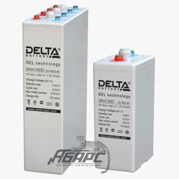 Delta OpzV 500 (500 Ач, 2 В) Аккумуляторная батарея