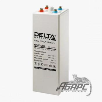 Delta OpzV 1200 (1200 Ач, 2 В) Аккумуляторная батарея