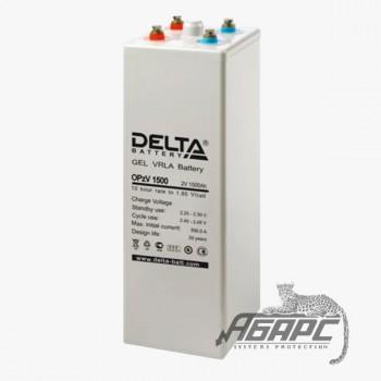 Delta OpzV 1500 (1500 Ач, 2 В) Аккумуляторная батарея