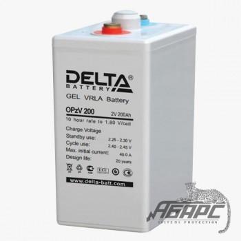 Delta OpzV 200 (200 Ач, 2 В) Аккумуляторная батарея