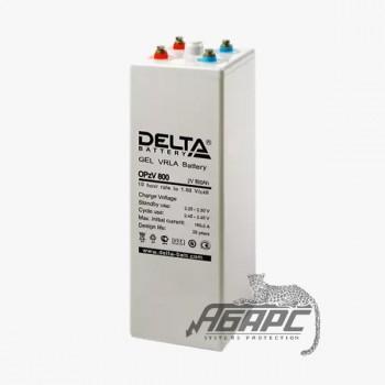Delta OpzV 800 (800 Ач, 2 В) Аккумуляторная батарея