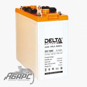 DELTA STC 1000 (1000 Ач, 2 В) Аккумуляторная батарея