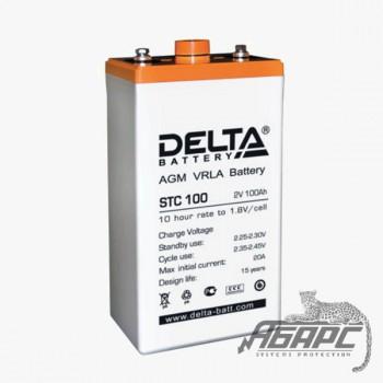 DELTA STC 100 (100 Ач, 2 В) Аккумуляторная батарея