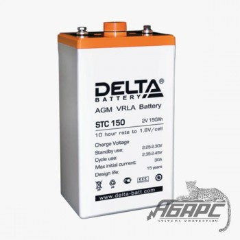 DELTA STC 150 (150 Ач, 2 В) Аккумуляторная батарея