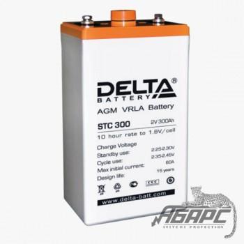 DELTA STC 300 (300 Ач, 2 В) Аккумуляторная батарея