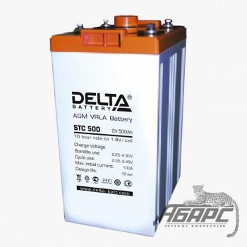 DELTA STC 500 (500 Ач, 2 В) Аккумуляторная батарея