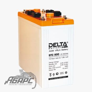 DELTA STC 800 (800 Ач, 2 В) Аккумуляторная батарея