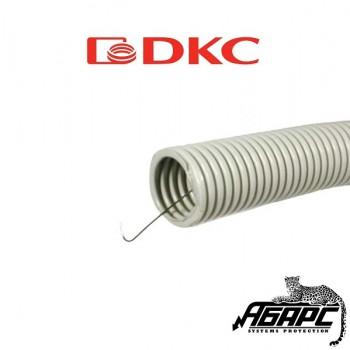Гофрированная труба диаметром 16 мм со стальной протяжкой (DKC)