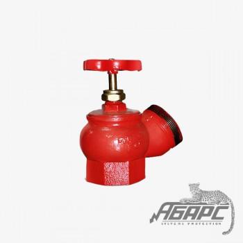 Ду-65. Чугун угловой 125гр. муфта, цапка (КПЧ-65)(КПК-65) / КПЧ-65-2 (цапка + цапка). Пожарный вентиль