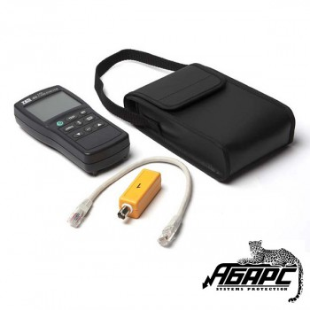 Hyperline HL-LCD-46 прибор-тестер витой пары UTP/FTP и коаксиального кабеля с памятью и экраном