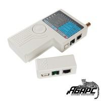 Hyperline HL-NCTU прибор-тестер витой пары UTP/FTP и коаксиального кабеля