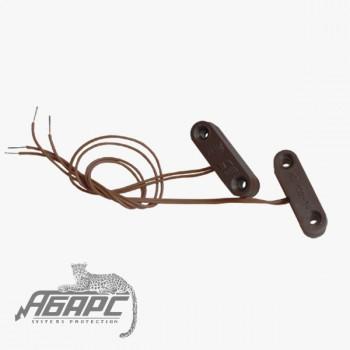 ИО 102-14 (СМК-14) коричневый Извещатель охранный точечный магнитоконтактный