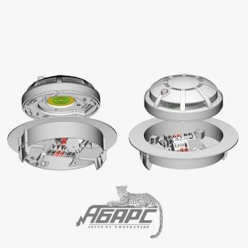 ИП 212-45 (для подвесного потолка) Извещатель пожарный дымовой оптико-электронный точечный