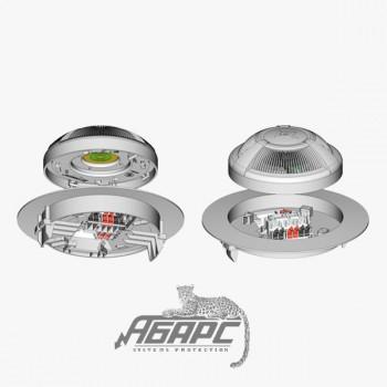 ИП 212-87 (для подвесного потолка) Извещатель пожарный дымовой оптико-электронный точечный