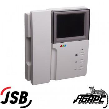 JSB-4HPM-PAL4 цветной видеодомофон на 2 вызывные панели или 2 камеры