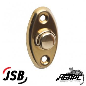 """JSB-KV10 кнопка выхода для систем доступа (СКД) цвет """"под золото"""""""