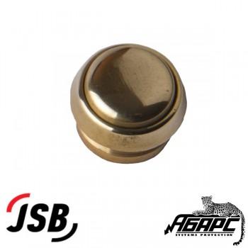 """JSB-KV13 кнопка выхода для систем доступа (СКД) цвет """"под золото"""""""