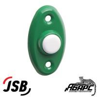 """JSB-KV15 кнопка выхода для систем доступа (СКД) цвет """"зеленый с белой кнопкой"""""""