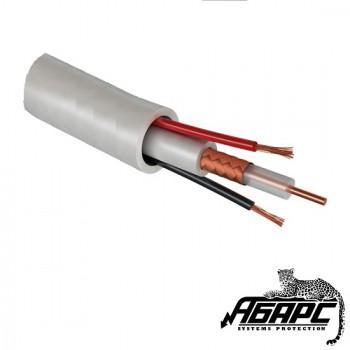 КВК-2В (2х0,75) кабель комбинированный внутренний