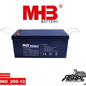Гелевая аккумуляторная батарея MHB MNG 200-12