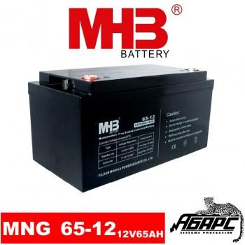 Гелевая аккумуляторная батарея MHB MNG 65-12