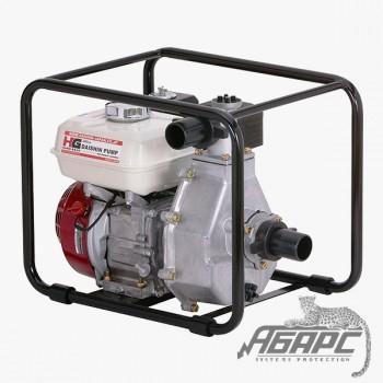 Мотопомпа бензиновая DAISHIN SCH-5050HX пожарная высоконапорная для чистой воды