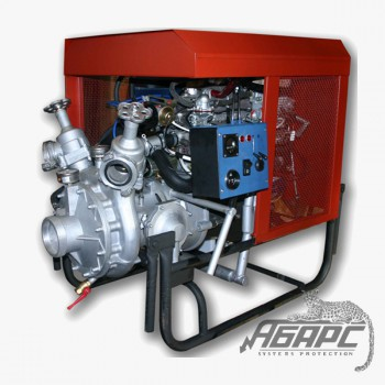 Мотопомпа бензиновая Гейзер 1600-Е2 для чистой и слабозагрязненной воды