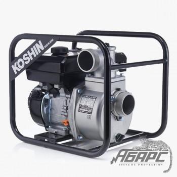 Мотопомпа бензиновая KOSHIN SEV-80X для чистой или слегка загрязненной воды
